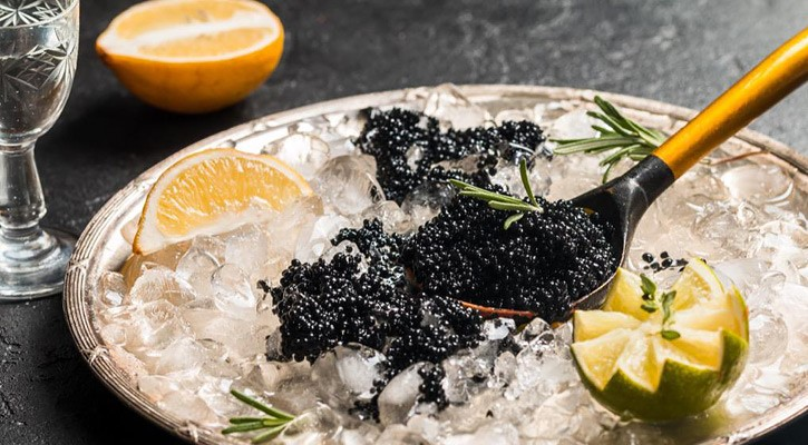 Iranian caviar